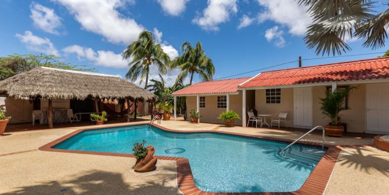 Aruba Wanderlust pool apartment